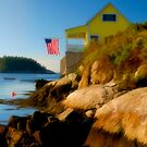 Five Islands Fourth of July, Maine by Dave  Higgins