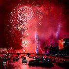 Goodbye 2012 From London 3 - HDR by Colin J Williams Photography