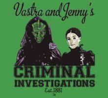 Vastra and Jenny's Criminal Investigations Kids Clothes