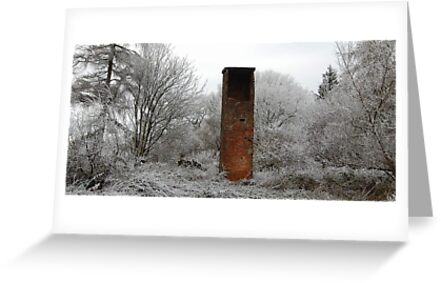 Forest chimney by Clandrew