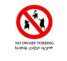 NO DWARF TOSSING-lotr by macliam