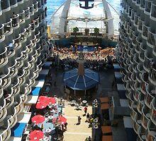 Atlantic City Boardwalk at Sea! by John  Kapusta