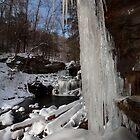Icicles at R. B. Ricketts Falls by Mark Van Scyoc