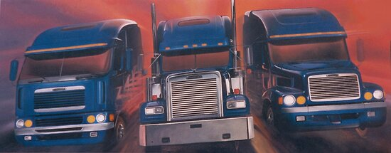 Freightliners by jamescassel