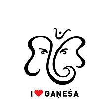 I LUV GANESHA | 01 | iPhone Case by kausthub