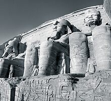Abu Simbel - Monument to Ramses The Great by Mark Tisdale