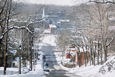 Winter in Galena by Nadya Johnson