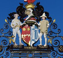 Colchester Castle Gates by wiggyofipswich