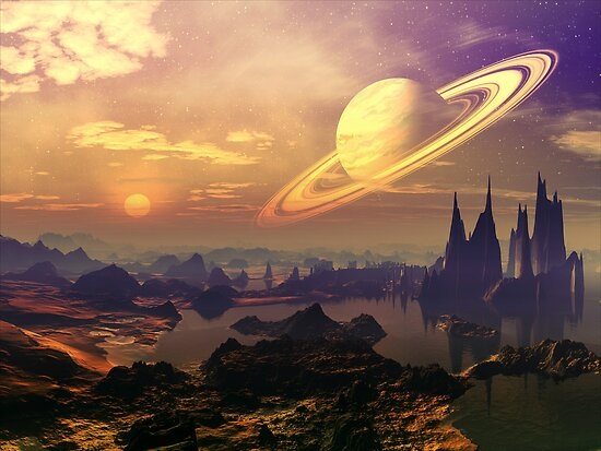 Ringed World by SpinningAngel