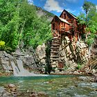 Crystal Mill View 1 by Ken Smith