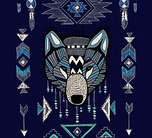 Wolf by Mangeshig