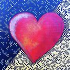 Checkered Heart by Donna Zenz