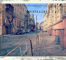 Greetings from Chernivtsi III (Postcard) by alecksmart