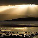 Isle Of Bute - Searchlight by Kevin Skinner
