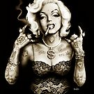 Marilyn Monroe Gangster Style by ScreamingDemons