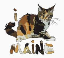 I LOVE MAINE T-shirt by ethnographics