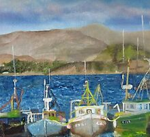 Day Off (fishing boats in Bantry Harbour) by GypsyCanadian