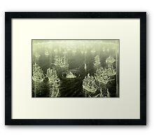 """""""Fog Bank"""" Framed Print"""