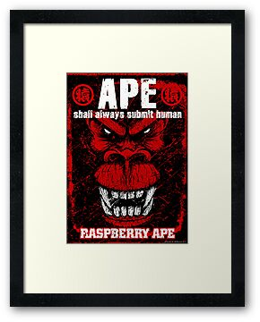 Raspberry Ape v2.0 by Meerkatsu