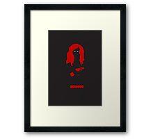 The Avengers - Black Widow Framed Print