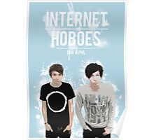 Dan & Phil - Blue Poster