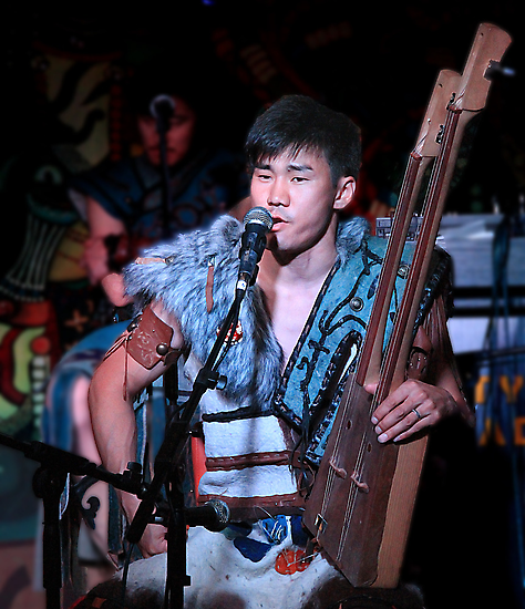 Traditional Throat Singing by GayeL Art