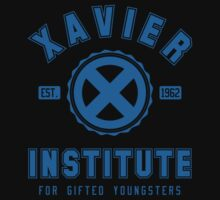 XAVIER INSTITUTE - BLUE by lewtengco