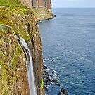 Kilt Rock Waterfall by Chris Thaxter