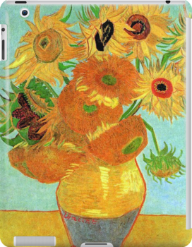 Vase with Twelve Sunflowers, Vincent van Gogh by naturematters