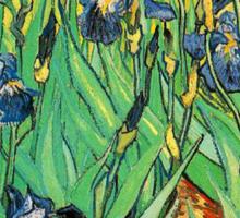 Irises, Vincent van Gogh Sticker