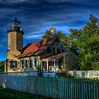 White River Light Station Museum by Scott Wood