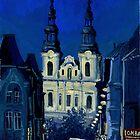 Church in Krakow  by Redilion
