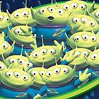 Little Green Men by Kanae