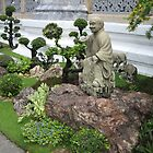 Buddhist Garden by Mary-Elizabeth Kadlub