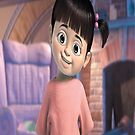 Boo from Monsters, Inc by Kanae