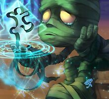 League of Legends Amumu Sad by gleviosa