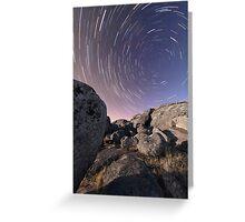 Stars Over Stones - Batesford, Victoria, Australia Greeting Card
