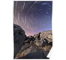 Stars Over Stones - Batesford, Victoria, Australia Poster