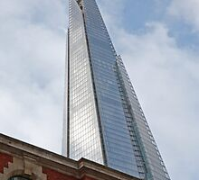 The Shard Building in  London by Keith Larby