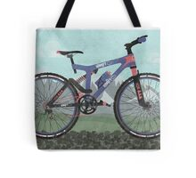 Mountain Bike Tote Bag
