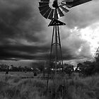 Stormy Mill by kurrawinya