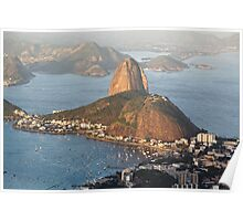 Sugarloaf from Above Poster