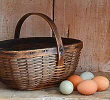 My Grandma's Egg Basket by mcstory