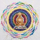 Buddha : Crown Chakra  by danita clark