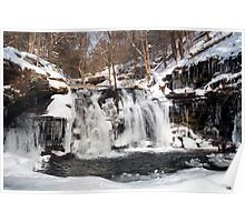 Wyandot Falls & Winter Ice Poster