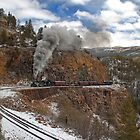 Winter Highline Freight by Ken Smith