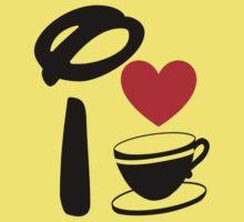 I Heart Tea Cups Kids Clothes