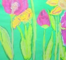 Parrot Tulips by amybcraft77