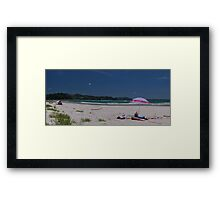You Know What I Did This Summer Framed Print
