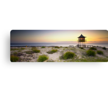 The Entrance Life Guard Tower Canvas Print